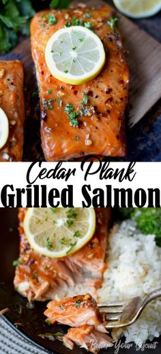 Grilled Salmon Recipes, Pork Rib Recipes, Grilled Meat, Grilling Recipes, Fish Recipes, Seafood Recipes, Cooking Recipes, Sauce For Grilled Salmon, Cooking Tips