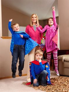 Helping Sick Children - Capes for Terminally Ill Children - Woman's Day