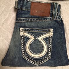 Mens big star jeans ORION style. Dark wash. Never been worn, in perfect condition. Size 30 REGULAR Big Star Jeans Boot Cut