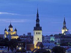 Old Town in Tallinn, Estonia