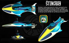 Stingray ortho by unusualsuspex on DeviantArt Sci Fi Movies, Series Movies, Movies And Tv Shows, Movie Tv, Tv Series, Old Tv Shows, Kids Shows, Thunderbirds Are Go, Childhood Tv Shows