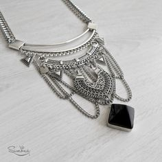 Collares Gothic Jewelry, Tribal Jewelry, Indian Jewelry, Boho Jewelry, Antique Jewelry, Silver Jewelry, Fine Jewelry, Fashion Jewelry, Jewelry Making