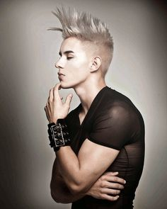Les Hairstyle Undercut Mohawk Inspired Men