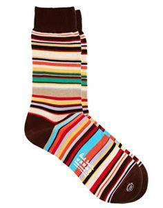 Paul+Smith+Multi+Stripe+Socks