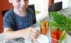 Trying to Teach Your Kids to Love Raw Veggies? Deconstruct the Salad
