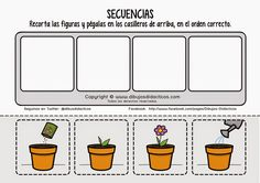 1 million+ Stunning Free Images to Use Anywhere Sequencing Worksheets, Sequencing Cards, Story Sequencing, Worksheets For Kids, Teaching Kids, Kids Learning, Plant Lessons, Daycare Themes, Preschool Garden