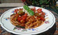 Vegetable Spaghetti, Spaghetti z warzywami, Italian, Włoskie