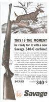 Savage Rifle 340-C 1962 Ad Picture