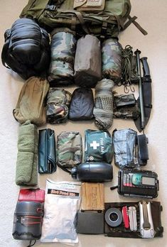 The contents of your bug out bag are one of the most important things for disaster preparedness. To give you an idea of how different bug out bags can be. Check out these 4 examples of bug out bag contents. Wilderness Survival, Camping Survival, Outdoor Survival, Survival Prepping, Survival Gear, Survival Skills, Camping Gear, Disaster Preparedness, Survival Stuff