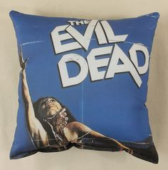 Evil Dead Throw Pillow. This item was sold by Horror Decor at MoreThanHorror.com
