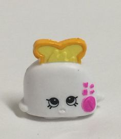 Shopkins Season 2 White Toasty Pop 017 HTF ~Loose #MooseToys