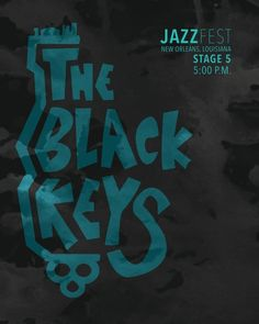 THE BLACK KEYS : Jazz Fest New Orleans 2013 - US Concert Imported Music Wall Poster Print - 30CM X 43CM Brand New: Amazon.de: Küche & Haushalt