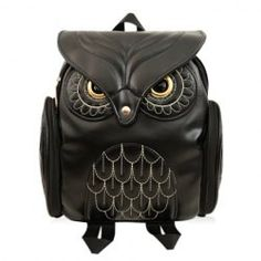 Preppy Owl Pattern and Stitching Design Women's Satchel