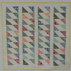 Another Doll Quilt - 30's prints