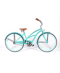 Another great find on #zulily! Teal Tiara Cruiser Bike - Adult by Colby Cruisers #zulilyfinds