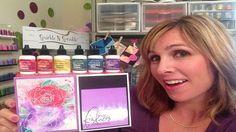 Color Burst Magic- Technique of the week- Demo Donna. Ken Oliver Color Bursts
