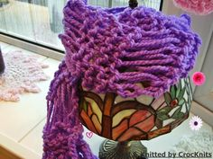 My One Hour DropStitch Knitted Scarf (Yes you really can make this in a hour) pattern available @Craftsy