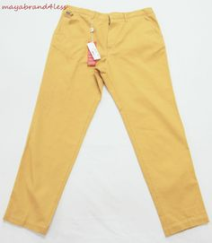 Lacoste OUTLET PRICE Mens Chino Trousers Pants SZ 46 #LACOSTE #DressFlatFront