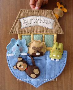 Enfeite porta maternidade   Aline Küster   Flickr