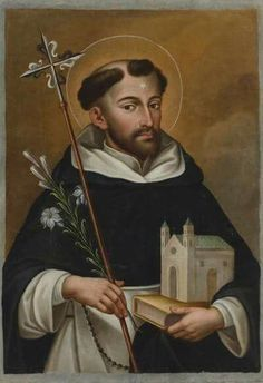 Holy Father Dominic, Founder of the Order of Preachers - 4 August Catholic News, Catholic Art, Catholic Saints, Religious Art, Dominican Order, Saint Dominic, St Anthony's, Christian Paintings, Christian World