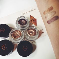 Charlotte Tilbury Eyes to Mesmerize Cream Eyeshadows in Bette, Marie Antoinette & Mona Lisa
