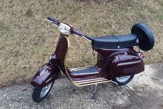 1968 Vespa Sprint in Amaranto