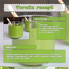 Zabpelyhes zöldturmix receptje. Smoothies, Health Fitness, Minden, Fruit, Drinks, Food, Smoothie, Drinking, Meal