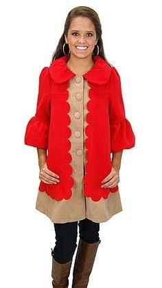 The Hansel Coat #shopbluedoor