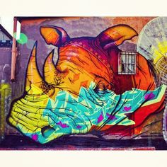 Work by @Binho3m • photo by @underground_culture  more street art & graffiti : http://mescablog.com/