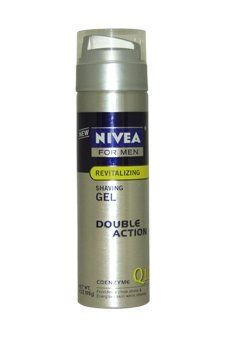 #Nivea #for Men Q10 Double Action Shaving Gel, 7-Ounce Bottles (Pack of #3)   you only need a  little amount not like other shaving creams   http://amzn.to/HSoQrO