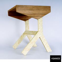 Need a side table? Hang in there ! #ganico #table