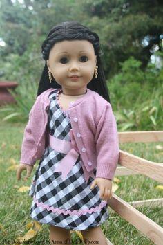 French Braid Headband for Dolls - http://dolldiaries.com/french-braid-headband-for-dolls/