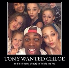 But, Lifetime probably wanted a stranger over Chloe. 😕Lifetime creating more drama, in a way it is good drama but at the same time tone it back a bit Lifetime. Dance Moms Memes, Dance Moms Comics, Dance Moms Funny, Dance Moms Facts, Dance Moms Dancers, Dance Mums, Dance Moms Girls, Dance Moms Confessions, Chloe Lukasiak