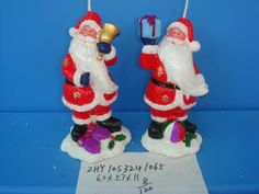 Christmas Candle/Holiday Candle/Santa Claus Candle from Quanzhou Ruihua Crafts Company of China