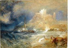 Bamborough Castle - Joseph Mallord William Turner - The Athenaeum