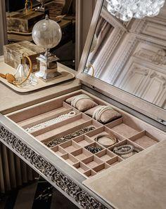 53 Dressing Table Ideas In Your Room Design # Interior Exterior, Luxury Interior, Interior Design, Stylish Interior, Interior Stylist, Room Interior, Closet Bedroom, Bedroom Decor, Closet Vanity