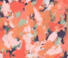 Chilton - happiness fabric by fable_design on Spoonflower - custom fabric