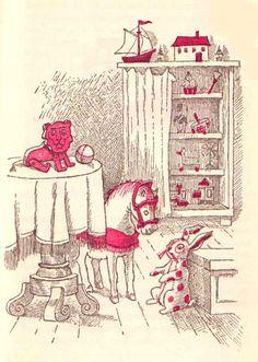 Maurice Sendak's Rare Velveteen Rabbit Illustrations circa 1960 – Brain Pickings Children's Book Illustration, Book Illustrations, Maurice Sendak, Kids Poems, Street Painting, Vintage Children's Books, Typography Prints, Linocut Prints, Childrens Books