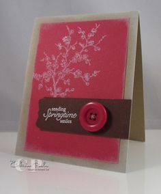 Stampin' Up Card Ideas Easter Blossoms Stamp Set
