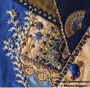 lace quilt block 39 detail lace quilt block start