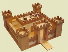 medieval castle school project | How to Build a Castle - Monsterguide.net