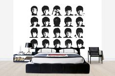 Beatles - Hard Days Night - Wall Mural & Photo Wallpaper - Photowall