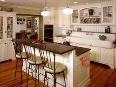 Cool vintage kitchen