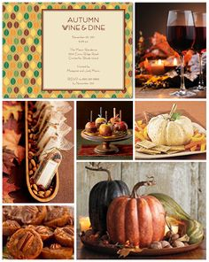 Autumn Party Inspiration Board