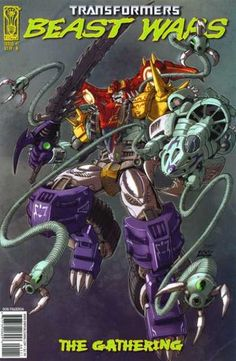 IDW Transformers Beast Wars #1 The Gathering