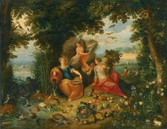 Allegoria dei Quattro Elementi  - J. BRUEGHEL il giovane (c. 1630) (collezione privata)