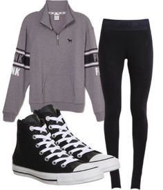 3631463a112 Perfect outfit for a lazy day or school! Lazy Day Outfits For School