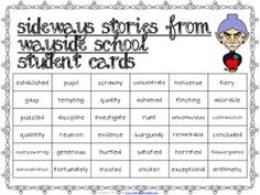 Using Sideways Stories from Wayside School in the Classroom |