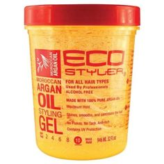 Eco Styler Moroccan Argan Oil Styling Gel teamblackhurromg  best natural hair products for black women -  http://www.shorthaircutsforblackwomen.com/natural_hair-products/