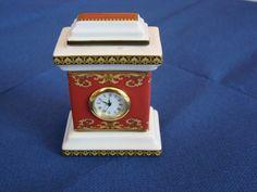 """Rosenthal Versace Medusa-vintage porcelain  table clock-rare porcelain clock -collectible clock-""""Medusa """" Versace-Versace Medusa clock by Swedenart on Etsy"""